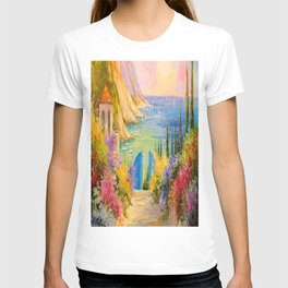 Road to the sea T-shirt