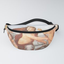 Triumph of Galatea by Rafaello Fanny Pack
