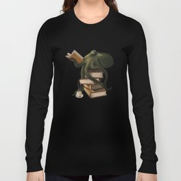 Well-Read Octopus Long Sleeve T-shirt