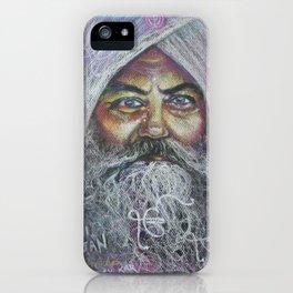 YOGI BHAJAN iPhone Case
