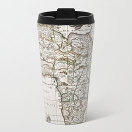 Vintage Africa map Travel Mug