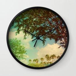 Florida Sky Wall Clock