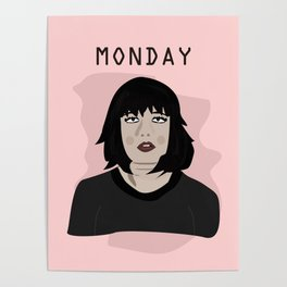The Monday Girl Poster