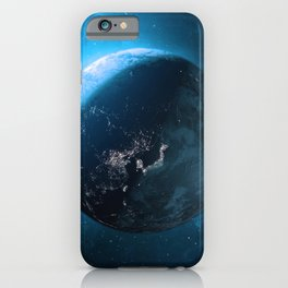 Outer Space Planetary — Earth iPhone Case