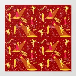 Musician Dancer Art Performer Life Canvas Print