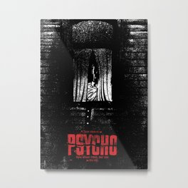 Psycho Metal Print