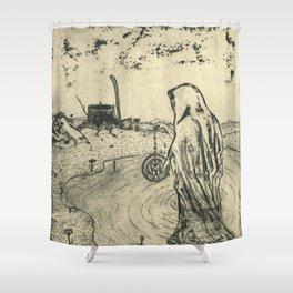 Illusions of Myth (Teeth) Shower Curtain