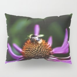 Electric Bee Pillow Sham