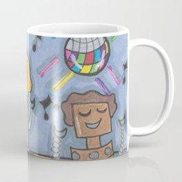 Disco Bots Coffee Mug