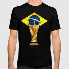 Brazil 2014 MEDIUM Mens Fitted Tee Black