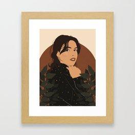 Starry Top Framed Art Print