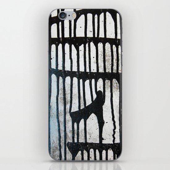 Black ink iPhone & iPod Skin