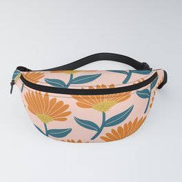 Floral_pattern Fanny Pack