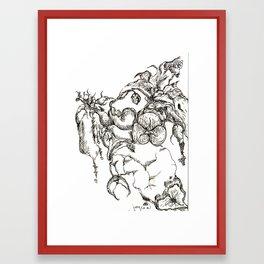 Botanical Abstract #2 Framed Art Print