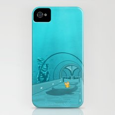 Gluttony - When the eye is bigger than the belly iPhone (4, 4s) Slim Case