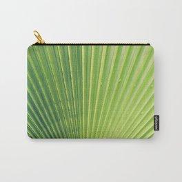 Big Palm Leaf Carry-All Pouch
