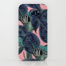 Tropical Flower Pattern #society6 #decor #buyart Galaxy S7 Slim Case