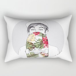 L Skate Rectangular Pillow