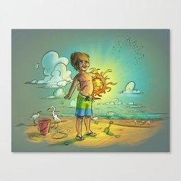 It's My Sun! Canvas Print