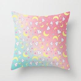 Sailor Moon Bunny's Pattern Throw Pillow
