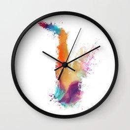 Saxophone Wall Clock