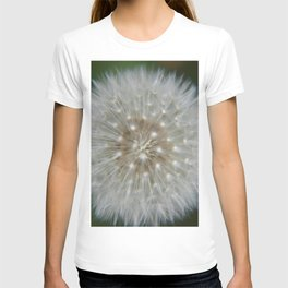 Dandelion Seed Wishes - Fluid Nature Garden Photography T-shirt