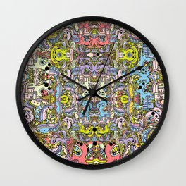Cartooniverse Wall Clock
