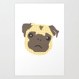 Pug! Art Print