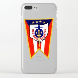 USS OHIO (SSBN-726) PATCH Clear iPhone Case