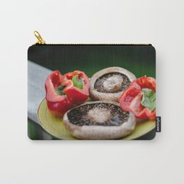 Portobello + Peppers Carry-All Pouch