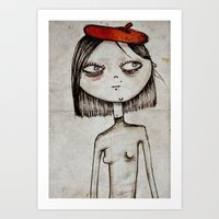 french fries Art Prints featuring French Fries by Zara Kunst