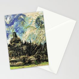 Borobudur Temple Stationery Cards