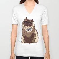 finn V-neck T-shirts featuring Finn by Faryn Hughes