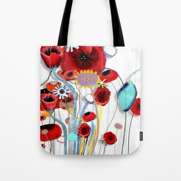 Here's my blooming heart, don´t break it  Tote Bag