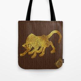 Ilvermorny Wampus Tote Bag