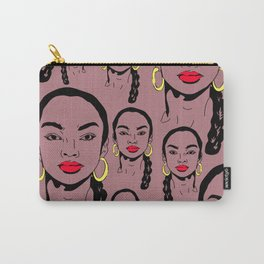 No Ordinary Love Pattern Carry-All Pouch