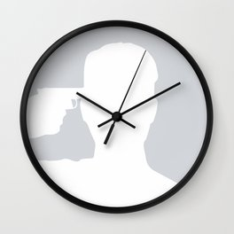 Gunbook Wall Clock