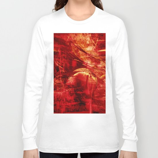 The planet at the end of the universe Long Sleeve T-shirt