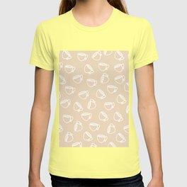 The Tea: Taupe T-shirt