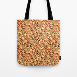 Mac & Cheese Pattern Tote Bag