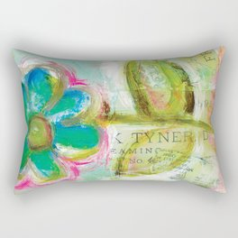 Le Bleuet Rectangular Pillow