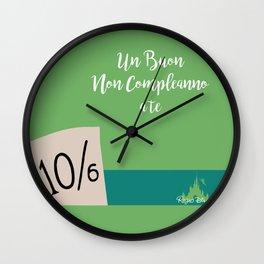 Cappellaio Matto Wall Clock