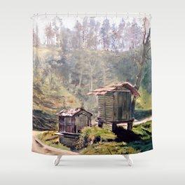 Cabazos Shower Curtain