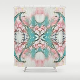 Pastel Thorns - Psychedelic Summer Series by iDeal Shower Curtain