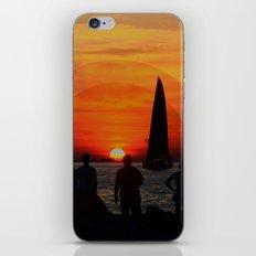 The Set iPhone & iPod Skin