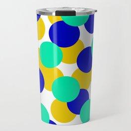 Colour Dots 05 Travel Mug