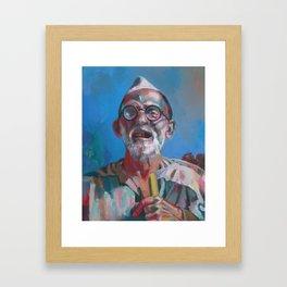 """A Shepherd""  Framed Art Print"