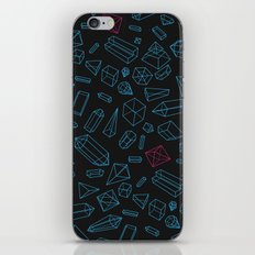 Crystals Pattern iPhone & iPod Skin