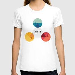Modern Design Minimal style graphic  T-shirt