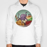 halo Hoodies featuring Halo Haloctopus by Shelly Soneja